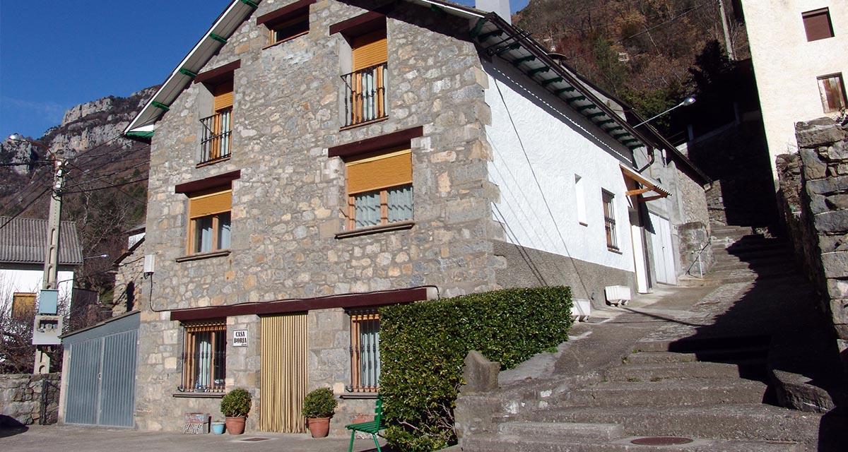 Casa Borja, Salinas de Sin