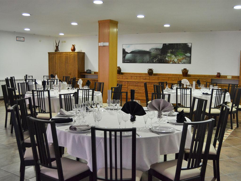 Restaurante Casa Ruché, Plan