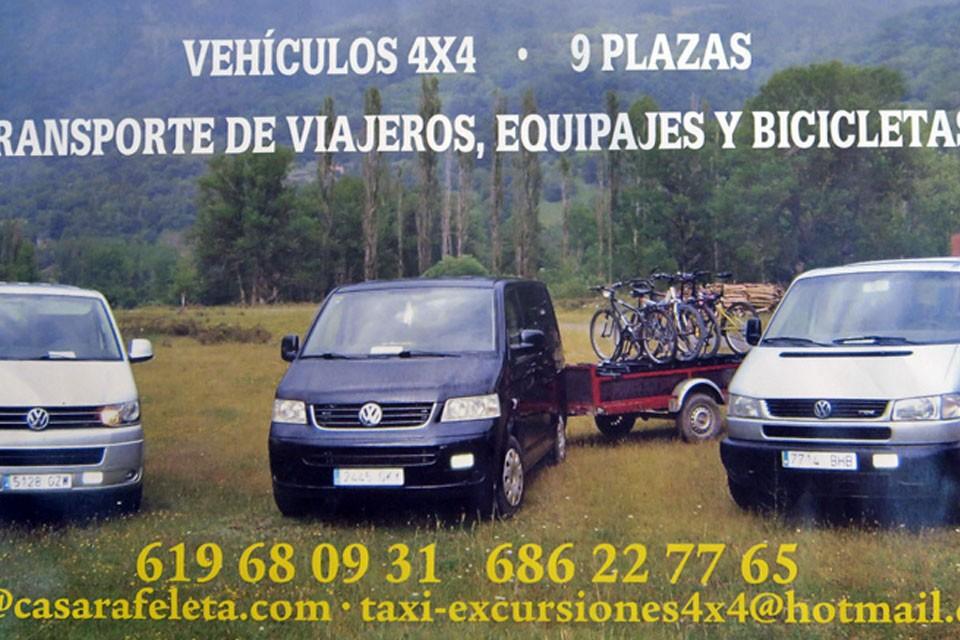Taxi vila, Plan