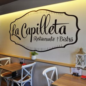 la capilleta, restaurante plan